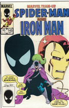 Marvel Team-Up Comic Book Spider-Man and Iron Man #145 Marvel 1984 VERY ... - $2.99