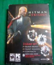 Hitman trilogy 5 discs 3 game set pc cd - $20.00