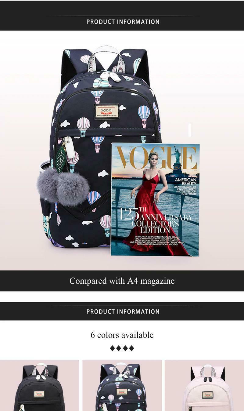 Women Backpack Travel Anti Theft Design Large Capacity Teenage Girl School Bags image 9