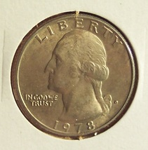 1978-D Washington Quarter BU #251 image 3