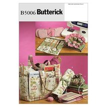 Butterick Patterns B5006 Sewing and Knitting Tote and Accessories, One Size Only - $14.70