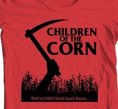 Children of Corn T-shirt retro 80's horror movie The Shining 100% cotton tee image 2