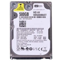 Western Digital AV-25 WD5000BUCT 500GB SATA/300 5400RPM 16MB 2.5Hard Drive - $49.57