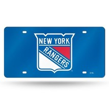 NHL New York Rangers Laser License Plate Tag - Blue - $29.39