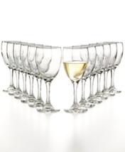 The Cellar Glassware Basics White Wine Glasses Set of 12 NEW - $29.99