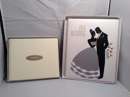 NEW Wedding Guestbook and Keepsake Book Set