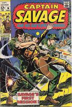 Capt. Savage and His Leatherneck Raiders Comic Book #14 Marvel 1969 VERY GOOD+ - $7.14