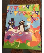 80 Sheets Hardcover Journal Garden Party Animal Theme - $5.52