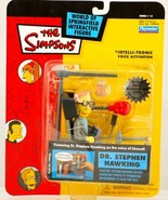 The Simpsons Interactive Dr. Stephen Hawking Action Figure - $92.06