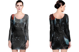 Gambit as Death Long Sleeve Bodycon Dress - $24.99+