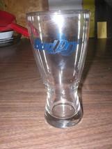 Bud Dry Draft Pilsner Glass Beer Anheiser Busch Budweiser Official Product - $8.29