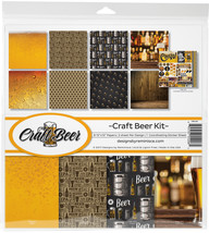 """Reminisce Collection Kit 12""""X12""""-Craft Beer - $12.94"""