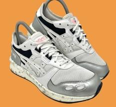 ASICS Women's HyperGEL-LYTE Running Shoes Sz 8 Sneakers White Silver 119... - $49.45
