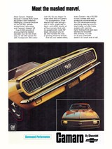 1967 Camaro SS Ad 023 | 24 x 36 INCH POSTER | sports car - $18.99