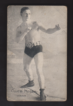 1921 Owen Moran Exhibit Boxing Postcard - $8.96