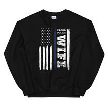 I Back The Blue Proud Police Wife Thin Blue Line Unisex Sweatshirt - $29.99+