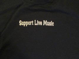 Support Live Music Minnesota Music Cafes GBF T Shirt size L - $5.99