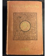 Antique Familiar Quotations from English and American Poets Hardcover Bo... - $65.44