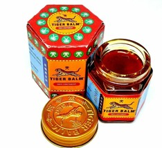 1 x 9 gm Tiger Balm Red Relief of Muscular Aches Pain Buy Bulk Low Price - $4.99
