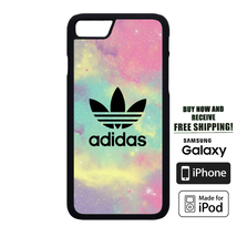 Full Colour Adidas Logo Beautiful Cover For iPhone 5 6 7 8 X Samsung HTC... - $10.99+