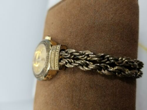 Vintage Tecnibond Ladies Watch Gold Rope Runs image 8