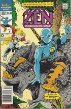(CB-3) 1992 Archie Comic Book: Zen Intergalactic Ninja #3 - $2.00