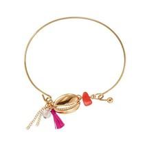 Avon Beachy Fringe Bracelet in Fuchsia - $11.99