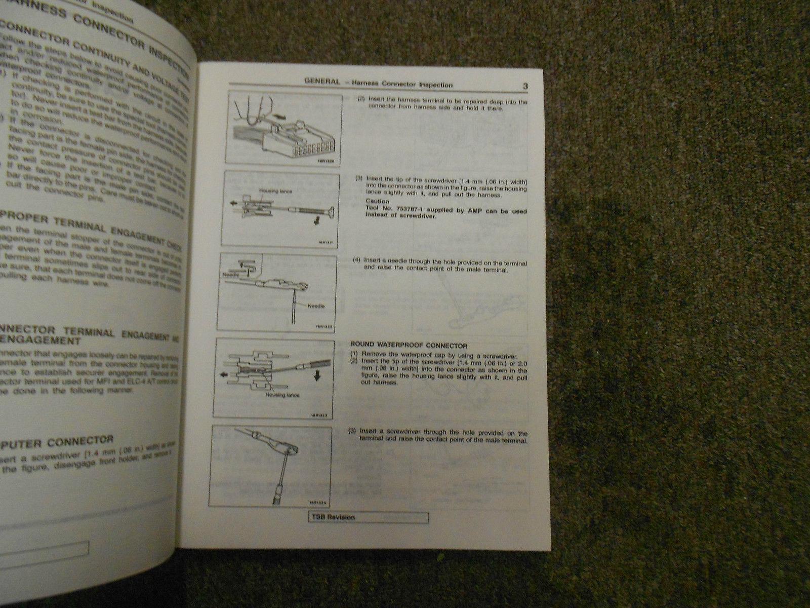 1997 MITSUBISHI Galant Service Repair Shop Manual 3 VOL SET FACTORY OEM BOOK X