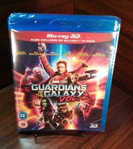 Marvel Guardians of the Galaxy Vol.2(3D+Bluray Disc,2017)REGION FREE-NEW... - $19.78