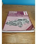Haynes Auto Repair Manual Honda Accord CVCC 1976-1983 All models 42010 (... - $9.90
