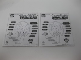 Tamagotchi Connection Manual Only English & French Versions - $14.99