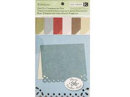 K&Company 5.5 x 9 Inch Double-Sided Julianne Die-Cut Cardmaking Paper Pad