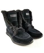 Cole Haan ZeroGrand Shearling Suede Chukka Boots Womens Size 5 Waterproo... - $18.69