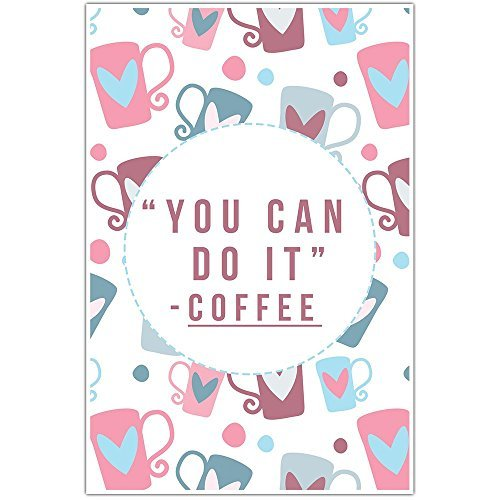 Primary image for You Can Do It Coffee Home Decor Wall Art