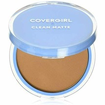 COVERGIRL Clean Matte Pressed Powder Tawny 10 g (Packaging may vary) - $8.52