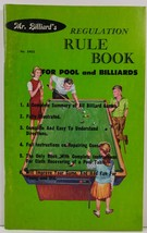 Mr. Billiard's Regulation Rule Book for Pool and Billiards 1966 - $3.99