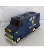 1976 Vintage Universal Associated SWAT police vehicle van made in Hong Kong - $27.87