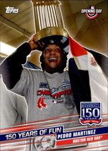 Pedro Martinez 2019 Topps Opening Day 150 Years Of Fun Card #YOF-19 - $0.99