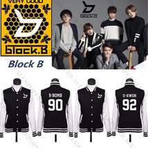 Kpop Block B Baseball Uniform Blooming Period Coat  Varsity Jacket Taei ... - $14.86