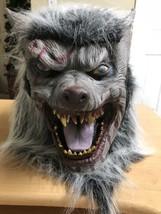 Vintage WEREWOLF Mask Halloween Display - £27.76 GBP