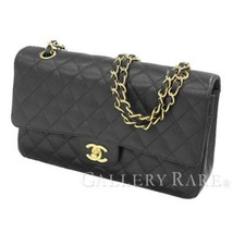 CHANEL Matelasse 25 Caviar Leather Black A01112 Shoulder Bag Authentic 5... - $4,262.63