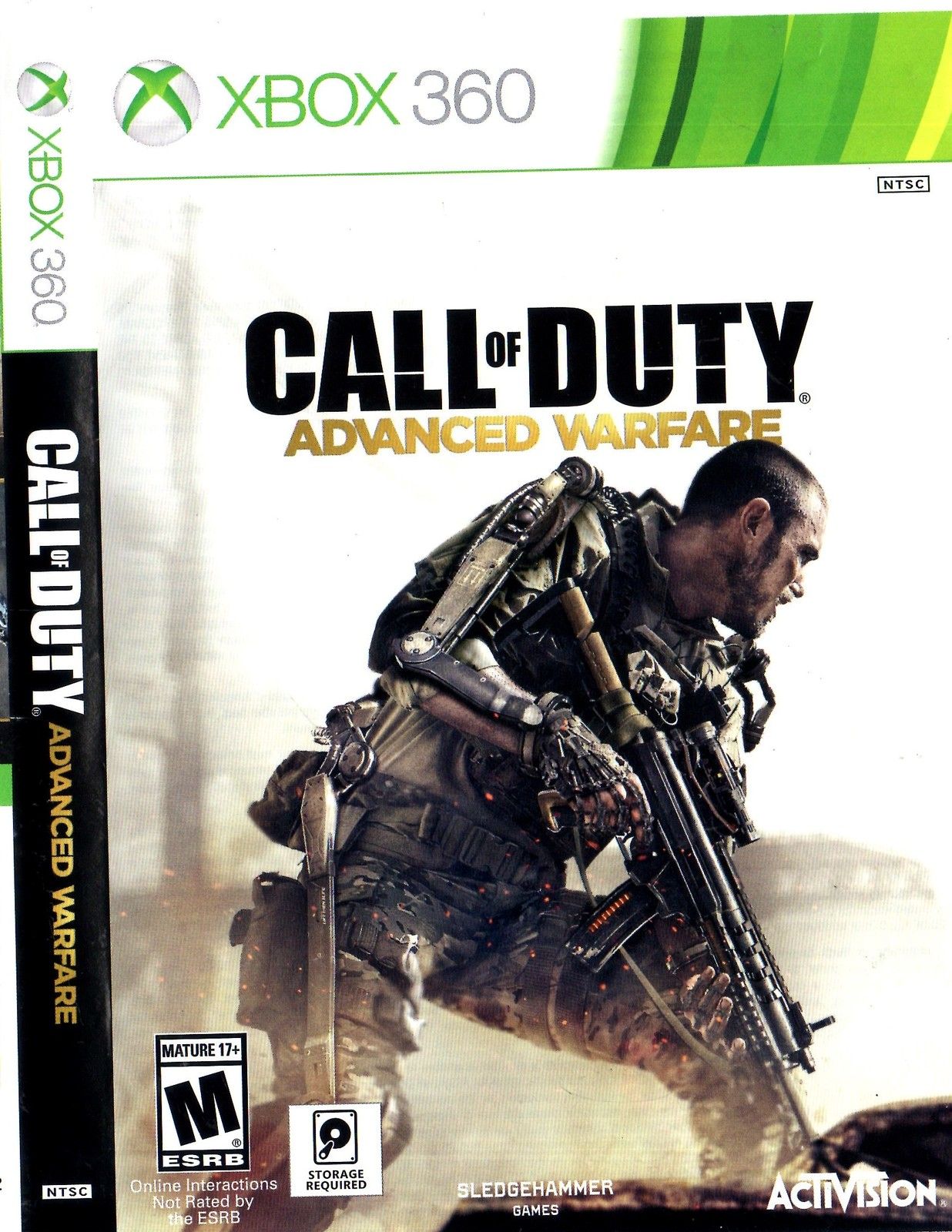 XBox 360: Call of Duty - Advanced Warfare