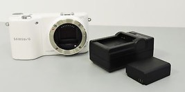 Samsung NX2000 Mirrorless Digtial Camera 20.3MP - White (Body Only) - $159.99