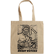 MUDDY WATERS - NEW AMAZING GRAPHIC HAND BAG/TOTE BAG - $16.75