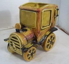 Lefton Planter Exclusive #4020 Antique Car  Lefton Trademark, Ceramic - €8,65 EUR