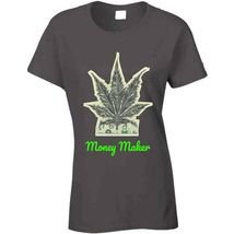 Money Maker 420 Canna Ladies T Shirt image 3