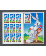 Bugs Bunny, 32 cents, 10 stamps total - $7.25