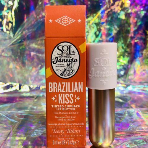 NEW IN BOX SOL DE JANEIRO CUPUAÇU Tinted Brazilian Kiss TEENY BIKINI superfresh