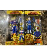 Lot Of 2 Mega Merge My Hero Academia ALL MIGHT #14 SHOTO TODOROKI #5 Fig... - $27.71