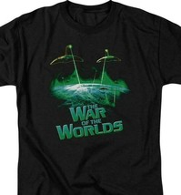 The War of the Worlds t-shirt aliens ship Sci-Fi retro 50's graphic tee PAR122 image 2